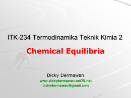 ITK-234 Slide 4 Chemical Equilibria.pptx