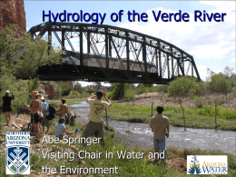 Verde Ecoflows Hydrology 052107.ppt