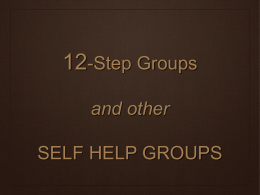 Self-Help Groups .ppt