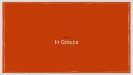 Transference in Groups.ppt