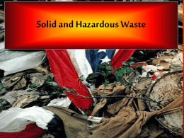 Solid waste and Recycling 4.PPT