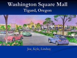 Washington Square Mall.ppt