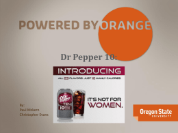 Dr Pepper 10.ppt