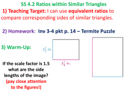 rttSS 4.2 Ratios within Similar Triangles.pptx