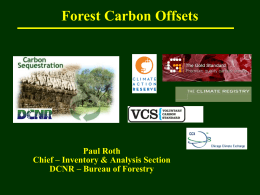 2010 Forest Offsets Roth.ppt