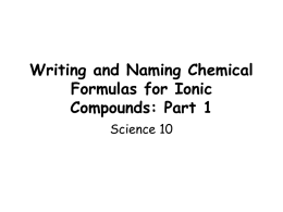 part 1.writing chemical formulas for ionic compoundsv2