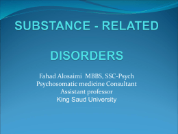 12-SUBSTANCE - RELATED disorder2.ppt