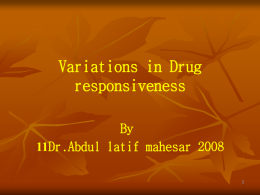 08.(LEC 8) ADVERSE DRUG REACTIONS.ppt