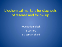 15-Biochemical Markers.ppt