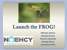 Julianelle: Launch the Frog