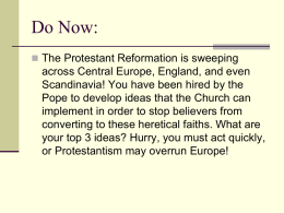 Counter Reformation PPT