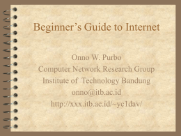 ppt-beginners-guide-to-internet-02-1998.ppt