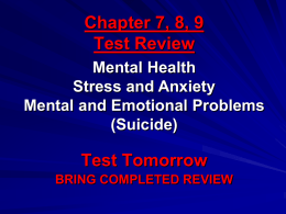 Chapter 7, 8, 9 Test Review.ppt