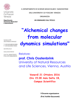 Alchemical changes from molecular dynamics