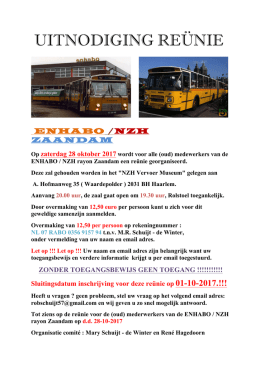de flyer. - NOC Waterland