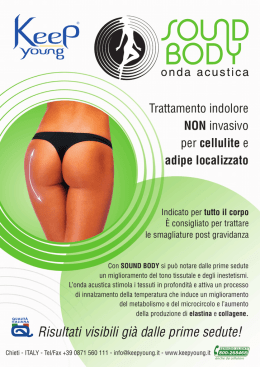 Informazione sound body