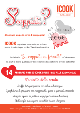 all you need is - Events Romagna
