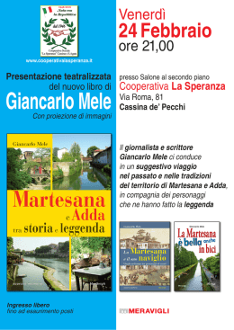 Martesana e Add-La Speranza_La Speranza - GAS