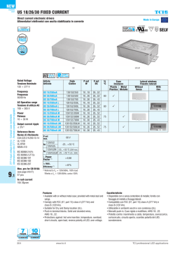 CATALOGO LED17.indb - TCI professional led applications