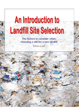 Intro-to-Landfill-Site-Selection