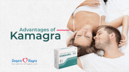 Advantages of Kamagra