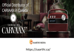 Buy Online Saregama Carvaan Music Player in Canada
